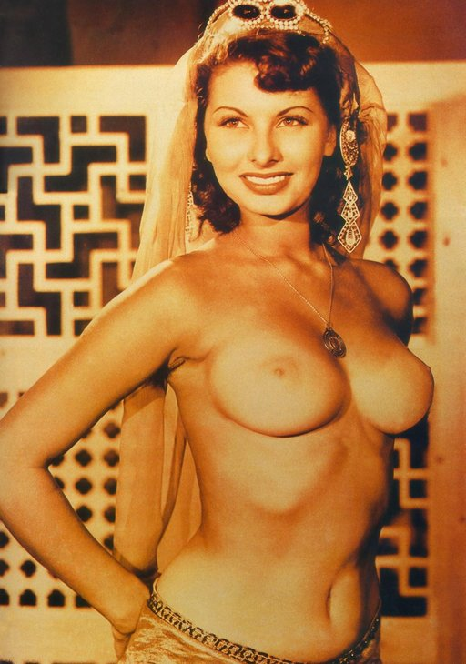 Sophia Loren topless in a 1950s movie