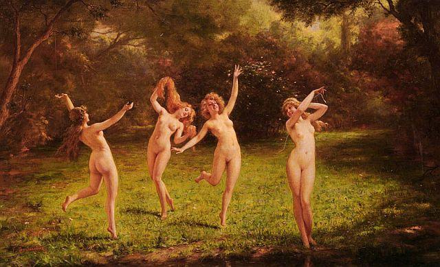 Girl nymphs Naked