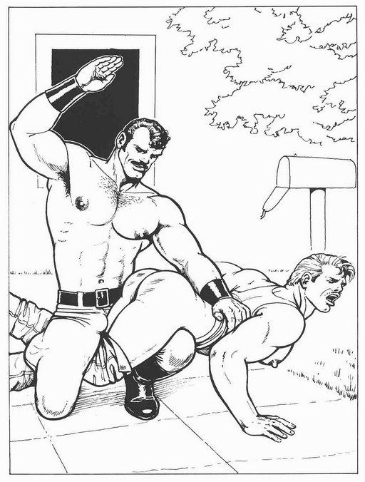 spanked-mailman