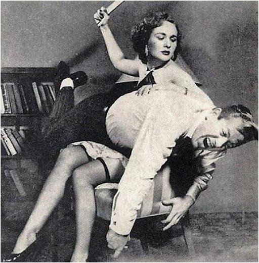 otk femdom spanking for john willie