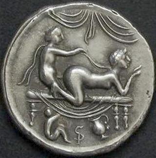 roman sex coin