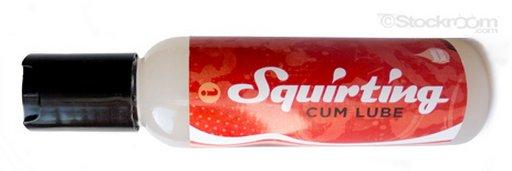 squirting semen lube