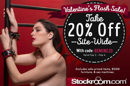 stockroom coupon