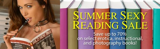 summer reading sale banner