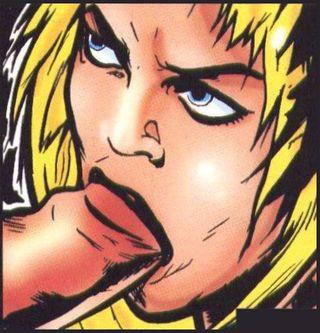 cocksucking french comic art