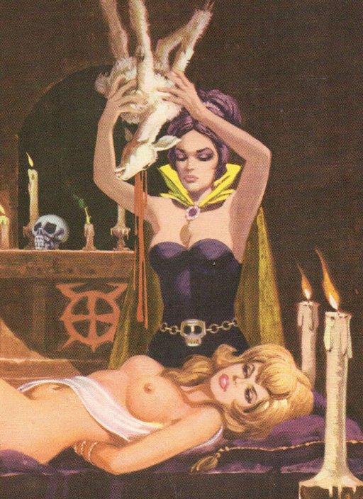 virgin sacrifice to summon the dark lord