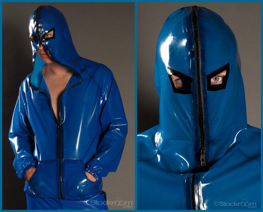 rubber executioner's hoodie
