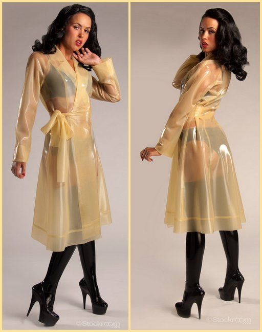 syren rubber raincoat