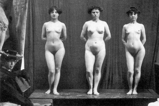 nude tableau