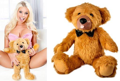 teddy love vibrating bear