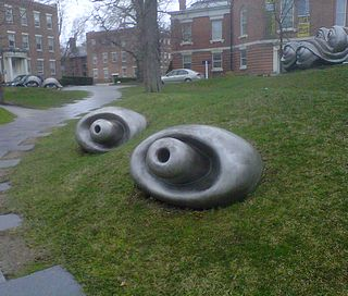 tentacle sculpture at the Williams College Museaum of Art