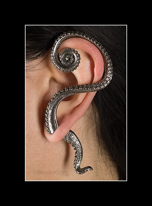 tentacle sex earring