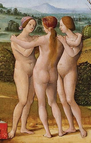three graces, no smiles