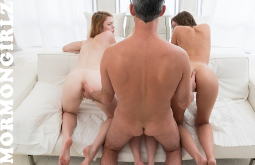 lining up his three wives for sex from behind