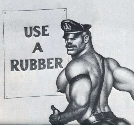 use a rubber condom prophylactic