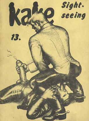 tom of finland gay porn illustration