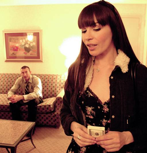 dana dearmond as a rent-a-date hooker