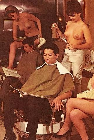 the naked barber shop