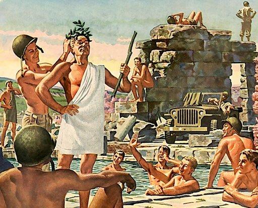 tank corps roman bath