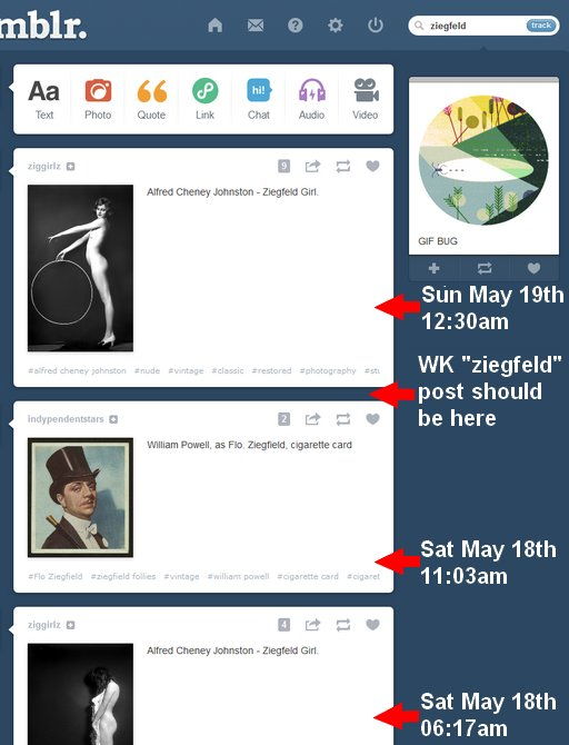 searching for a tagged post from adult-flagged tumblr blog