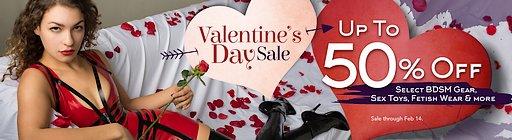 stockroom valentines sale banner