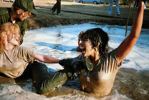 mud wrestling boot camp