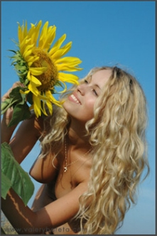 Sexy with Sunflower