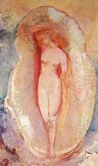 Detail from Odilon Redilon\'s Birth of Venus
