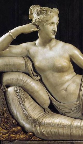 Venus Victrix crop showing nipples