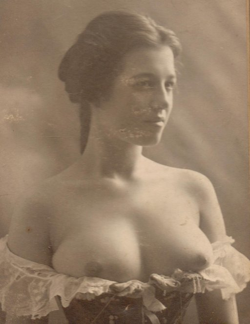 vintage bare breasts - pretty
