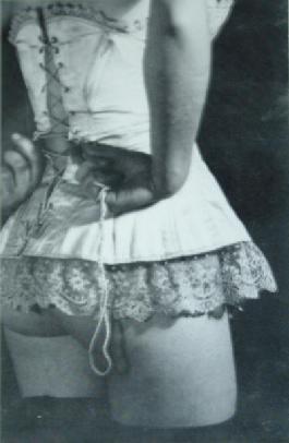 vintage corset picture