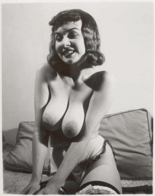 vintage nude with big boobs
