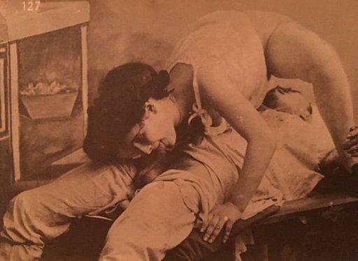 mutual oral sex: vintage sixty-nine from Vintage Lust