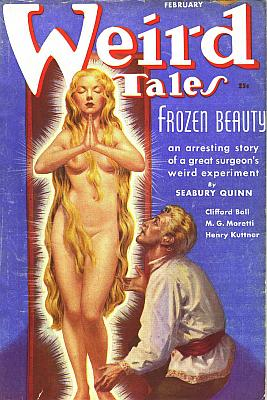 nude blonde with long hair pulp cover