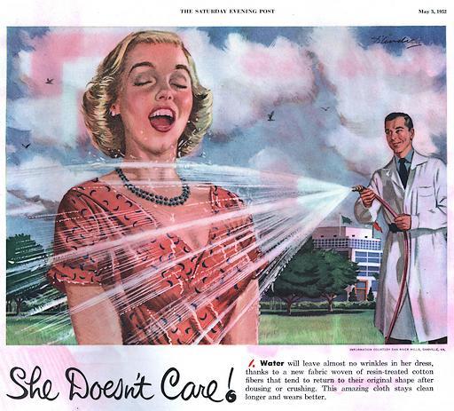 getting her wet in 1952