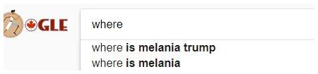 where is melania trump