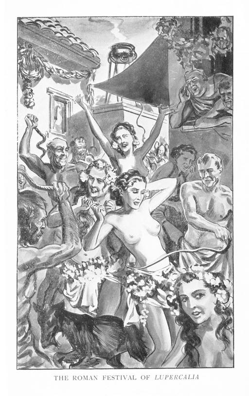 the roman festival of lupercalia