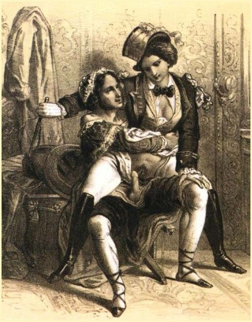 cross-dressing and forced feminization femdom from 1800s France