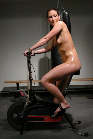 bondage exercise bike