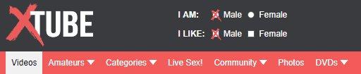 xtube porn selector
