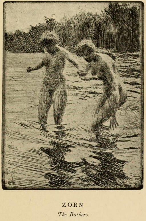 zorn-bathers