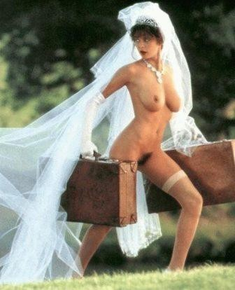 Naked Bride Running Away