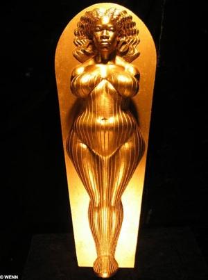 Oprah Gold Sarcophagus