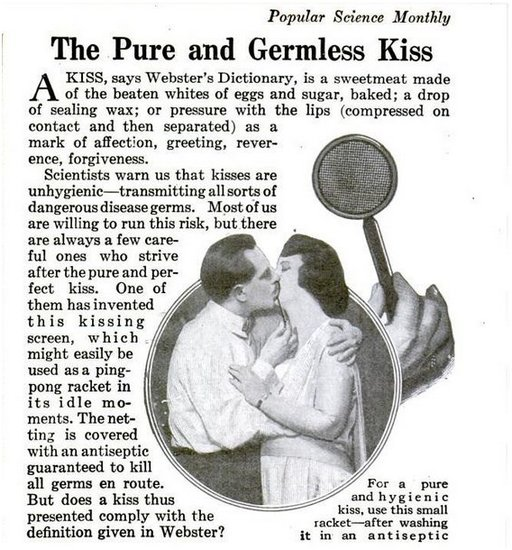hygienic kissing screen